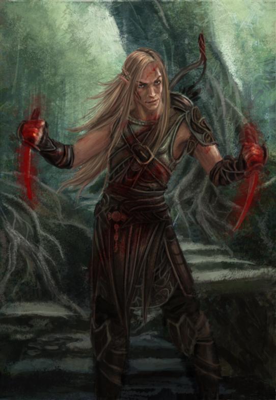 Zevran by Maguaii