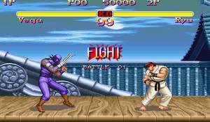 Vega VS Ryu