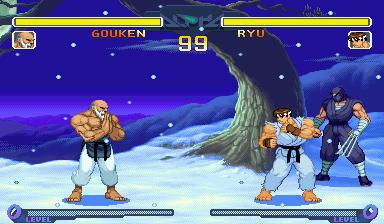Gouken VS Ryu by Street-Spriter