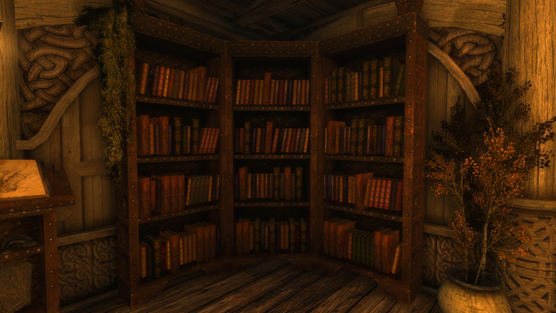 Unlimited Bookshelves At Skyrim Special Edition Nexus