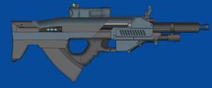 Blue Arms C.A.S M27A1 AR