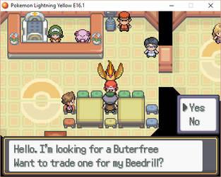 Beedrill Trade by desbrina