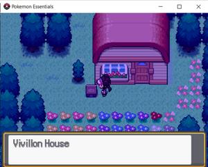Vivillon House Outside