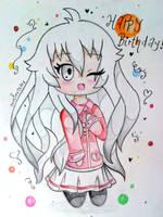 Happy Birthday, Sanarar!! by RedAceStarz