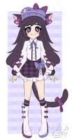[ ADOPT CLOSED ] Casual Purple Kitty