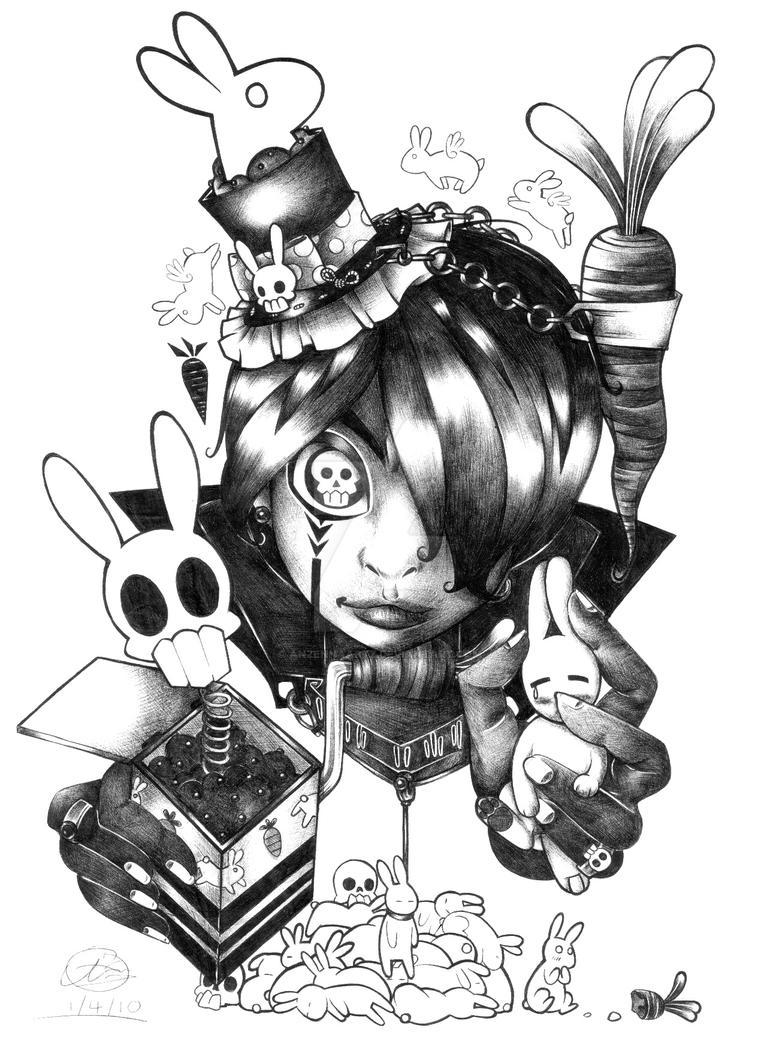 The Rabbit Reaper by AnzennaArtz