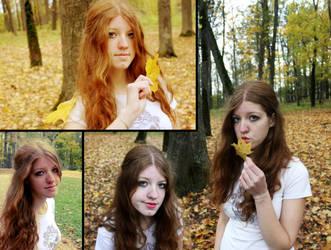 Sisterhood of autumn wolves by sebeka
