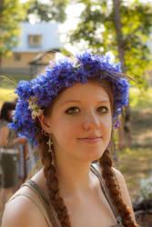 Blue crown by sebeka