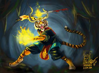 AC #106. Fire warrior by sebeka