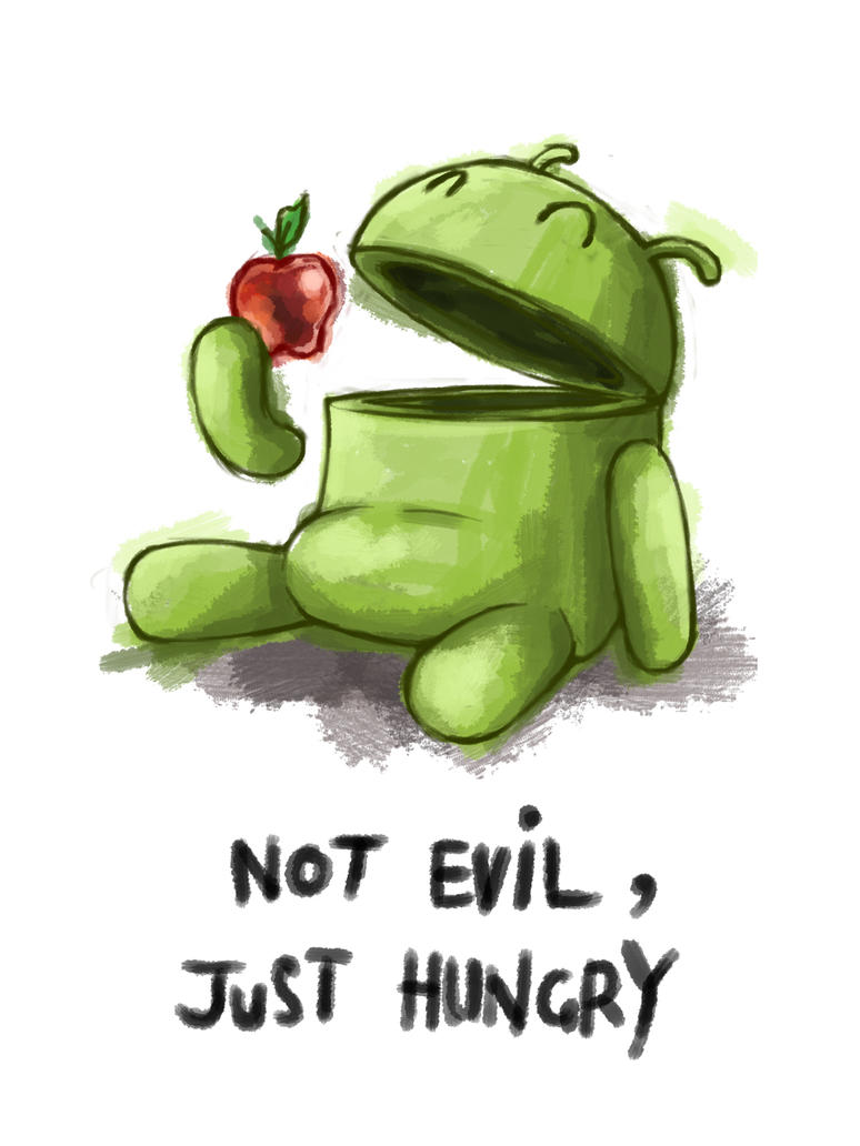 Hungry Android by thefjk