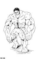 The Hulk - Outline by thefjk