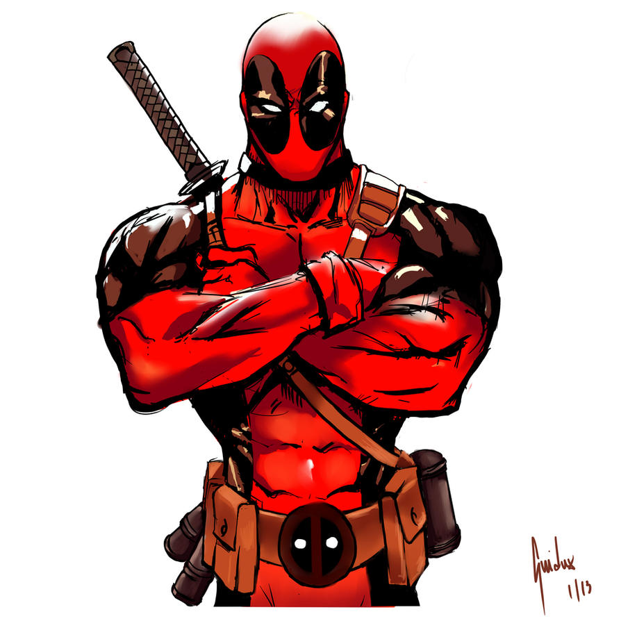 Deadpool Sketch 1 by Guidux92 on DeviantArtDeadpool Sketch