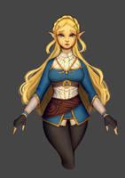 Zelda by Ghostlyfail