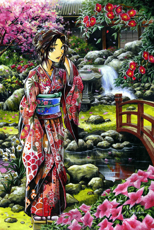 japanese spring by diogosaito