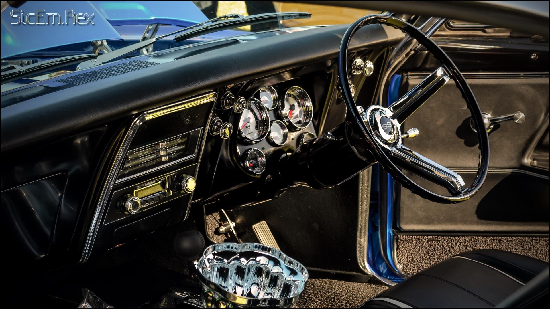 Old Skool #10 - Chevrolet Camaro SS Interior by SICEM-Rex on ...