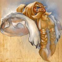 Grit Goldenwolf by Hazelgee