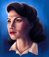 Agent Carter by Hazelgee