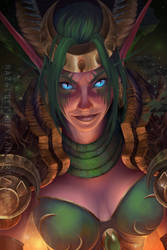 Ysera the Dreamer by Hazelgee