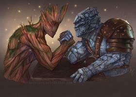 Groot v Korg by Hazelgee