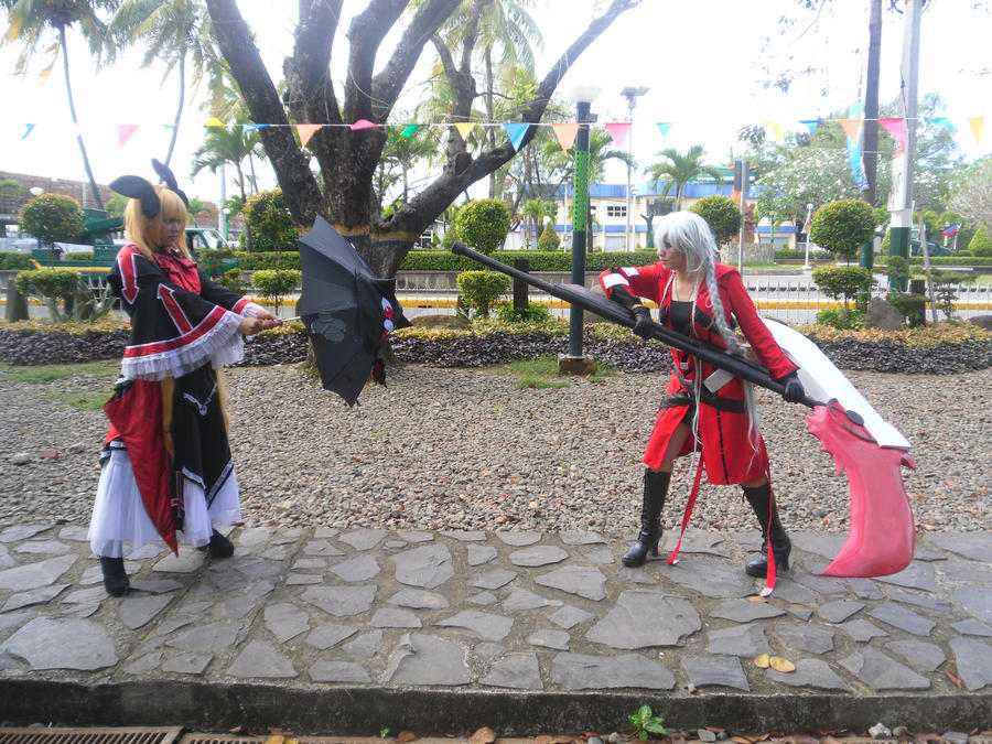 RAGNA THE BLOOD EDGE (GENDER BEND) Vs. Rachel by miyaca