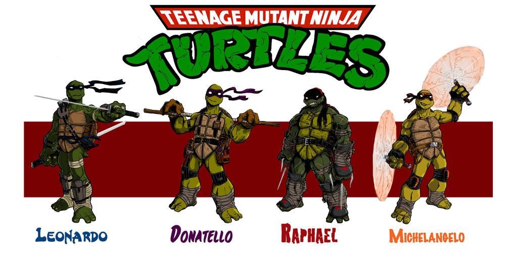 TmnT redesigns in color by Josh-Horn