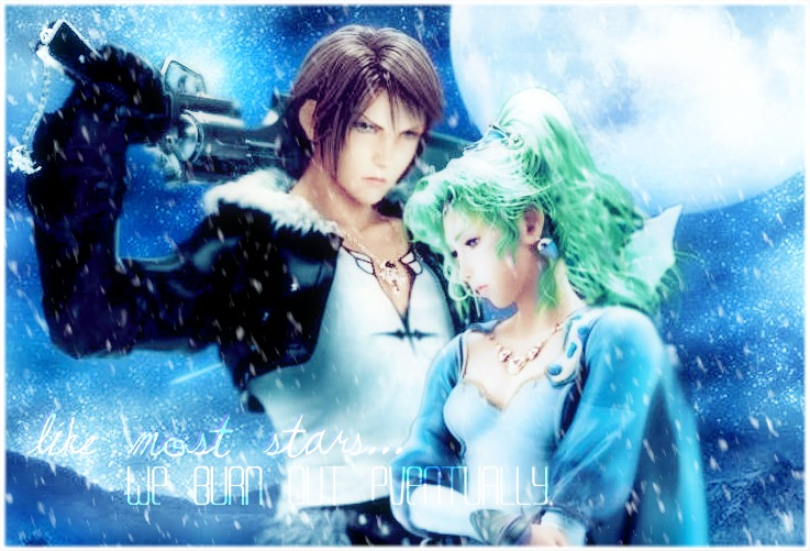 'Most Stars' Squall and Terra by KatalunaEternity