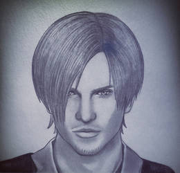 Draw Leon S. Kennedy RE6