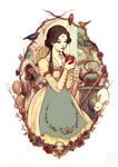 snow white by yasa-hime
