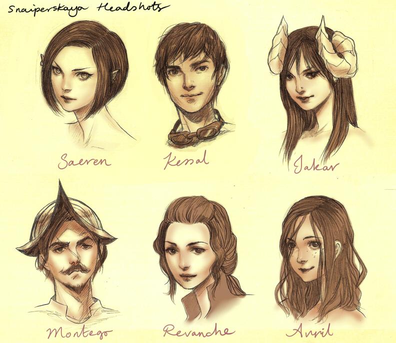 Snaiperskaya Headshots by JDarnell
