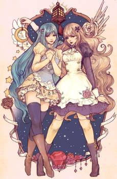 Luna and Astraia