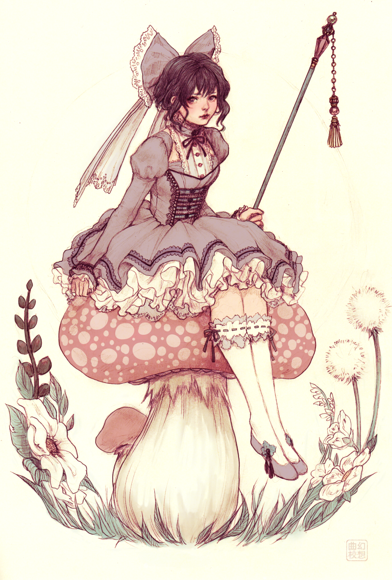 Toadstool Fairie by JDarnell
