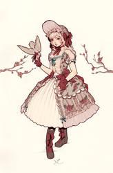 Winter Lolita by yasa-hime