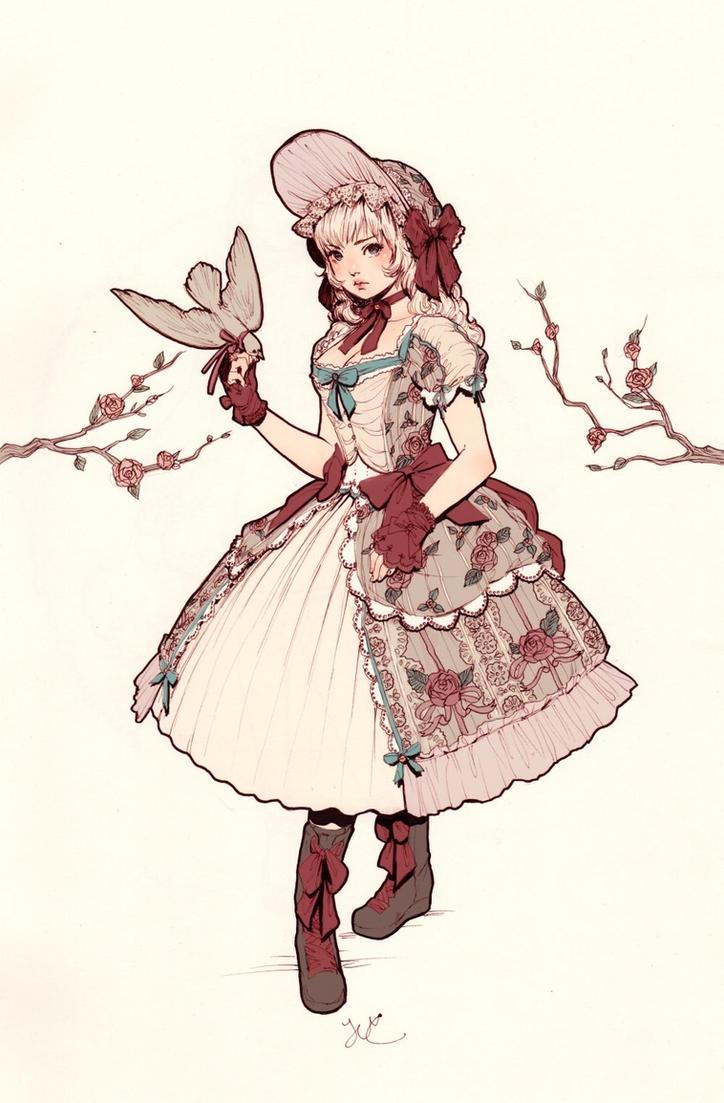 Winter Lolita by JDarnell