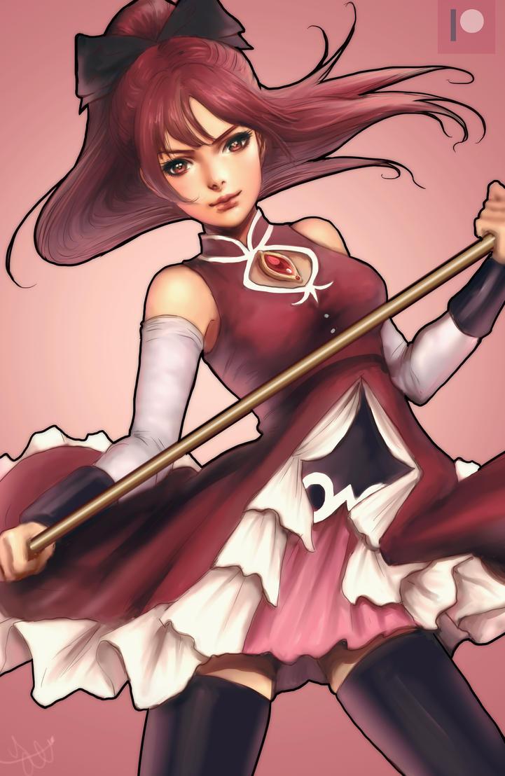 Kyoko Sakura for Patreon by yasa-hime
