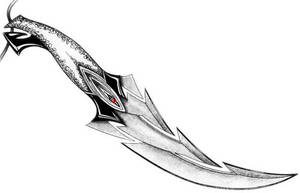 curved dagger by licuid