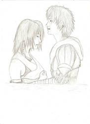 Final Fantasy X - Tidus, Yuna by kiradu81