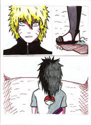 Naruto VS Sasuke 1 by kiradu81