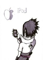Sasuke likes Apple by kiradu81
