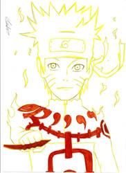 Naruto Kyubi control by kiradu81