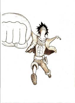 Mugiwara no Luffy gear third