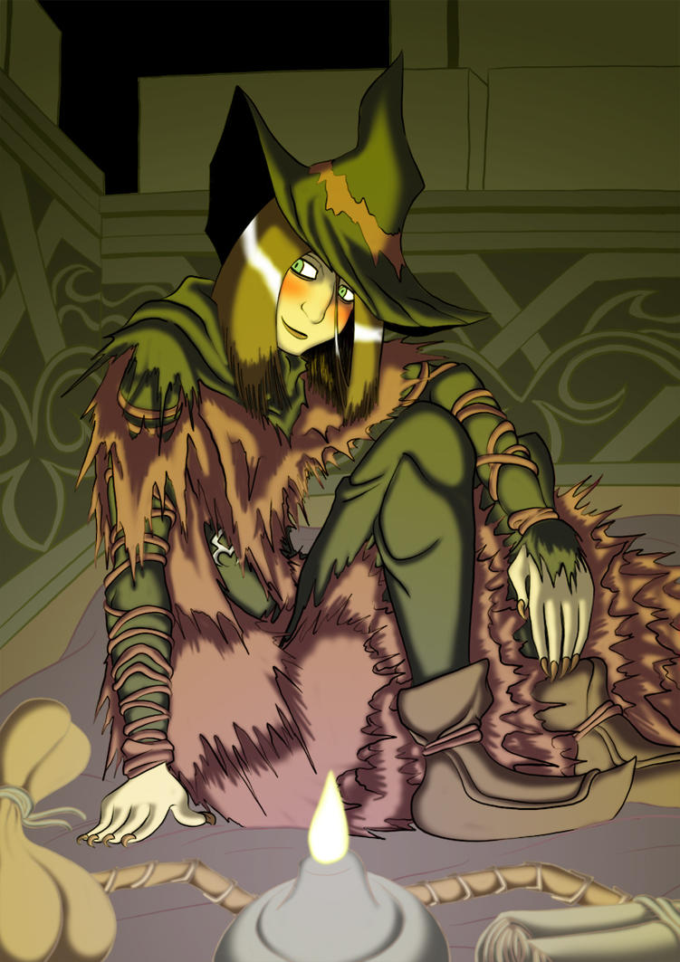 Yuria the Witch by BlueStrikerBomber