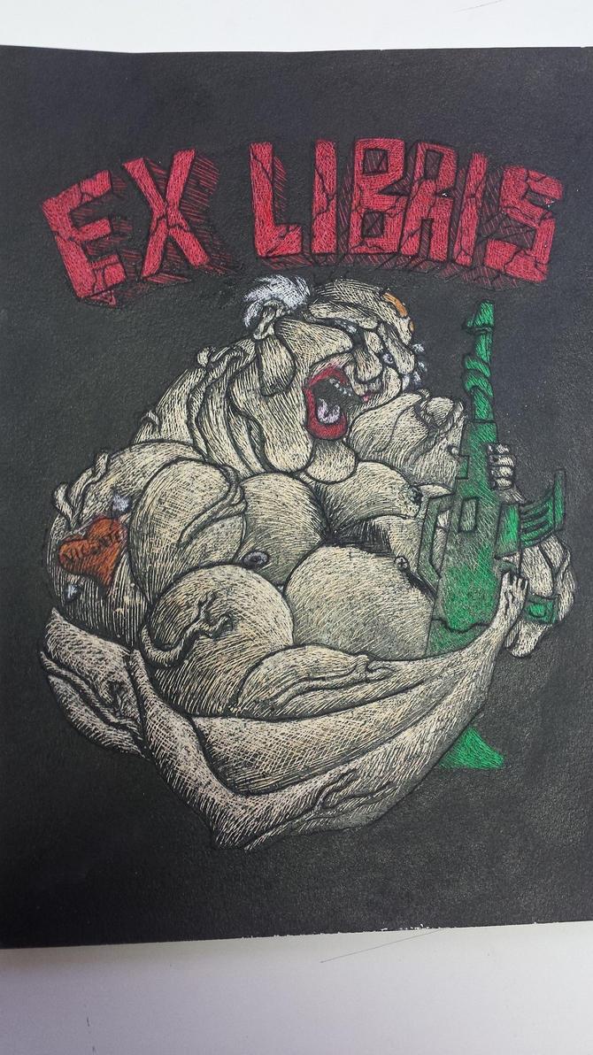 Ex Libris. by BlueStrikerBomber