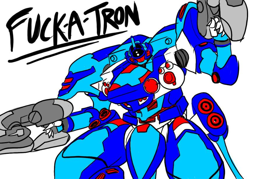 Fuck-a-tron, my Armored Core 4's AC. by BlueStrikerBomber