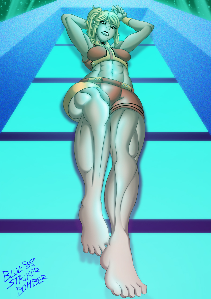 AM2R Samus by BlueStrikerBomber