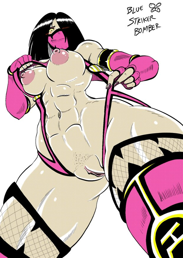 Mileena from Mortal Kombat (MK9 version). by BlueStrikerBomber