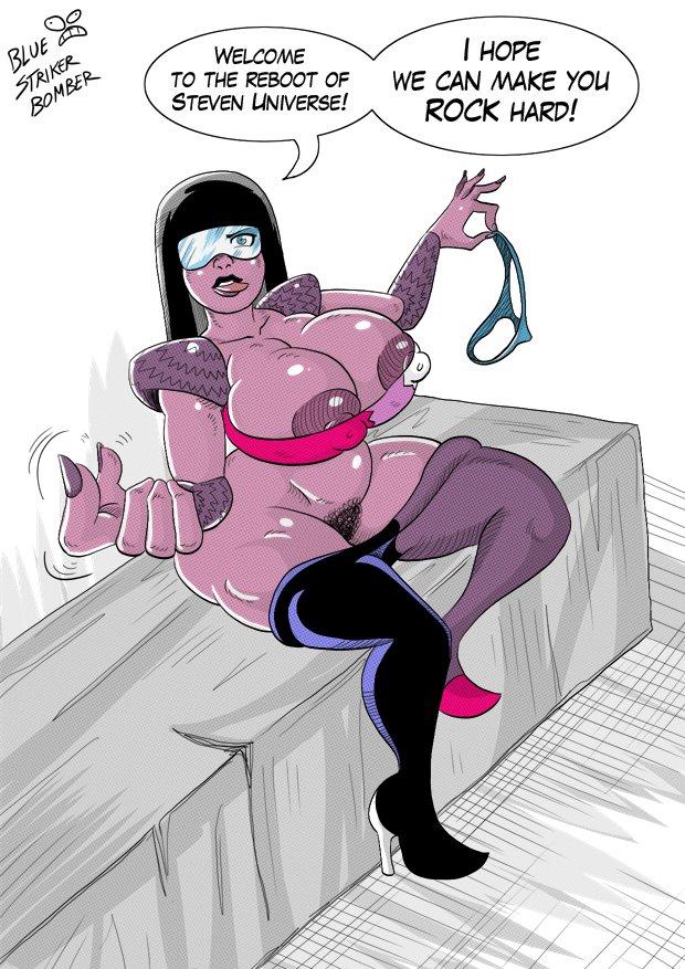 Garnet from Steven Universe REDESIGNED. by BlueStrikerBomber