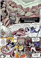 Hellgasm Slaughter: Chapter 1 Page 17 SPANISH by BlueStrikerBomber