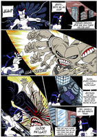 Hellgasm Slaughter: Chapter 1 Page 20 SPANISH by BlueStrikerBomber