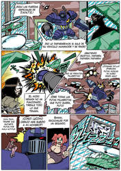 Hellgasm Slaughter: Chapter 1 Page 29 SPANISH by BlueStrikerBomber