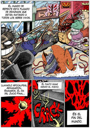 Hellgasm Slaughter: Chapter 1 Page 31 SPANISH by BlueStrikerBomber